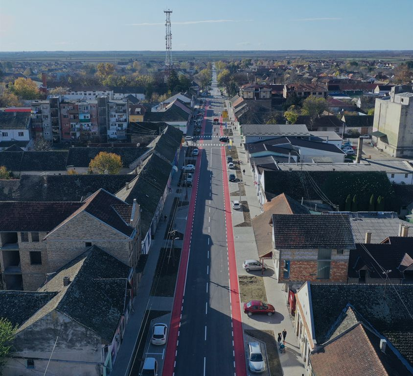 ENHANCED MAINTENANCE OF ŽELEZNIČKA STREET AND IVE LOLE RIBARA STREET IN ODŽACI
